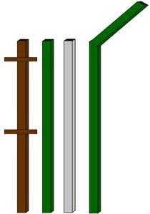изготовление металлические столбы в Междуреченске