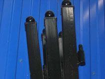 монтаж металлические столбы в Междуреченске